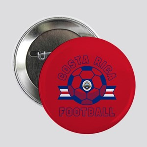 "Costa Rica Football 2.25"" Button (10 pack)"