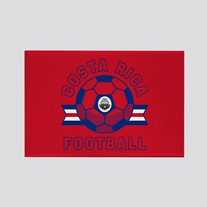 Costa Rica Football Rectangle Magnet