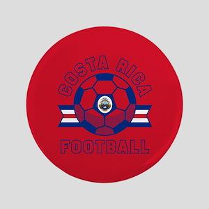 """Costa Rica Football 3.5"""" Button"""