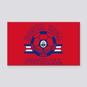 Costa Rica Football Rectangle Car Magnet
