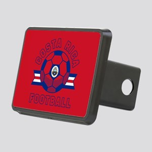 Costa Rica Football Rectangular Hitch Cover