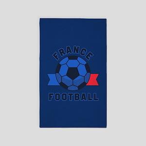 France Football Area Rug