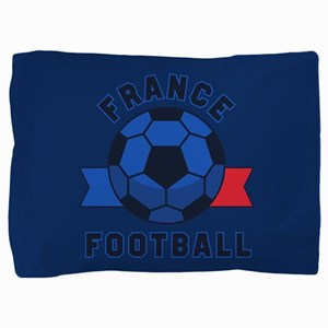 France Football Pillow Sham