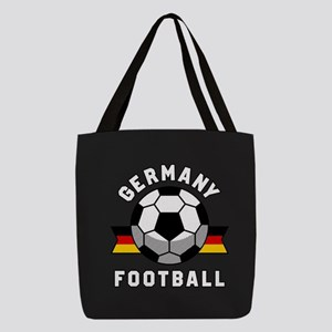 Germany Football Polyester Tote Bag