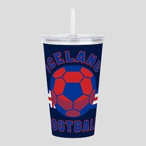 Iceland Football Acrylic Double-wall Tumbler
