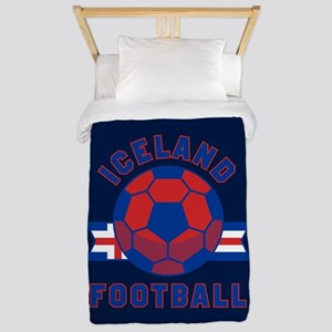 Iceland Football Twin Duvet Cover