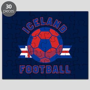Iceland Football Puzzle