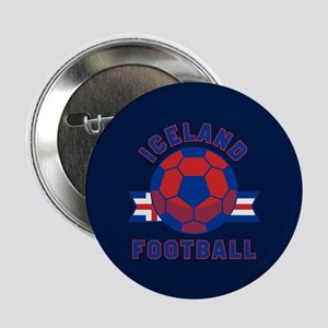 "Iceland Football 2.25"" Button (10 pack)"