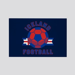 Iceland Football Rectangle Magnet