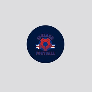 Iceland Football Mini Button