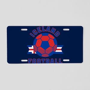 Iceland Football Aluminum License Plate