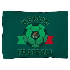 Mexico Football Pillow Sham