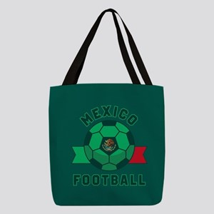Mexico Football Polyester Tote Bag