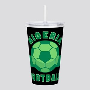 Nigeria Football Acrylic Double-wall Tumbler