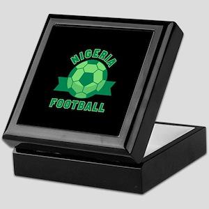 Nigeria Football Keepsake Box