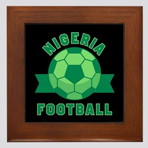 Nigeria Football Framed Tile
