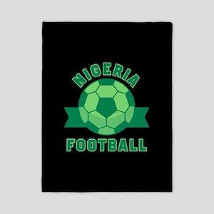 Nigeria Football Twin Duvet Cover