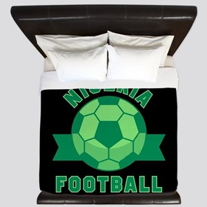 Nigeria Football King Duvet