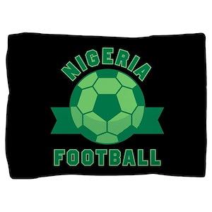 Nigeria Football Pillow Sham