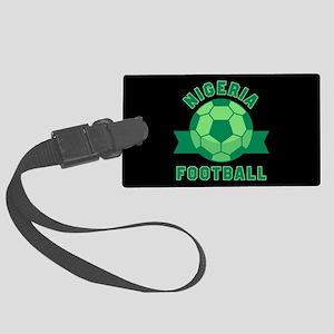 Nigeria Football Large Luggage Tag