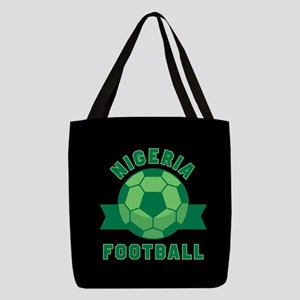 Nigeria Football Polyester Tote Bag