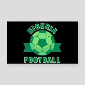 Nigeria Football Rectangle Car Magnet