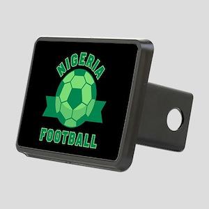 Nigeria Football Rectangular Hitch Cover