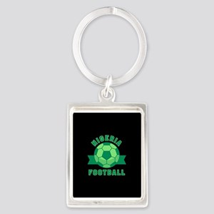 Nigeria Football Portrait Keychain
