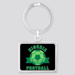Nigeria Football Landscape Keychain