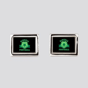 Nigeria Football Rectangular Cufflinks