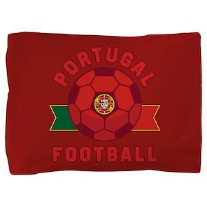 Portugal Football Pillow Sham