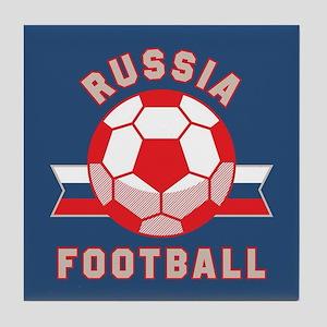 Russia Football Tile Coaster