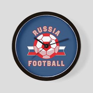 Russia Football Wall Clock