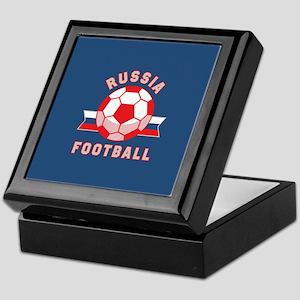 Russia Football Keepsake Box