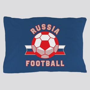 Russia Football Pillow Case