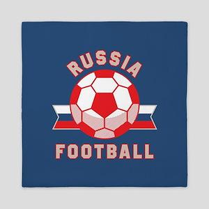Russia Football Queen Duvet