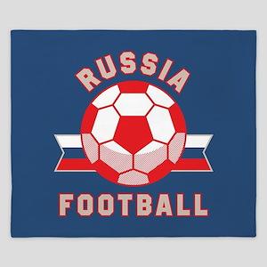Russia Football King Duvet