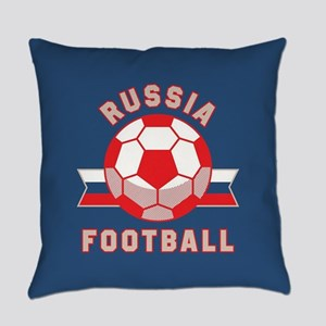 Russia Football Everyday Pillow