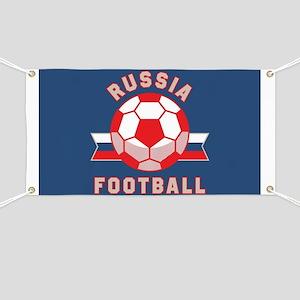 Russia Football Banner