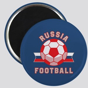 Russia Football Magnet