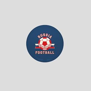 Russia Football Mini Button