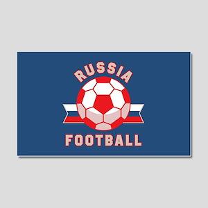 Russia Football Car Magnet 20 x 12