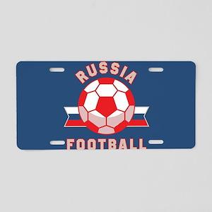 Russia Football Aluminum License Plate