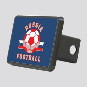 Russia Football Rectangular Hitch Cover