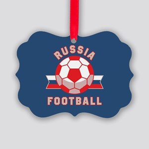 Russia Football Picture Ornament