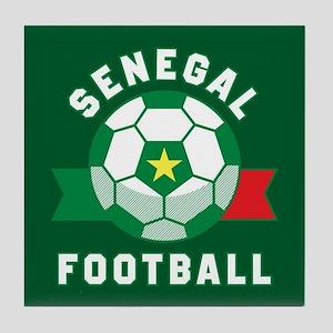 Senegal Football Tile Coaster