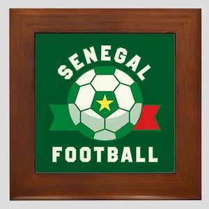 Senegal Football Framed Tile