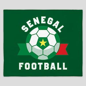 Senegal Football King Duvet