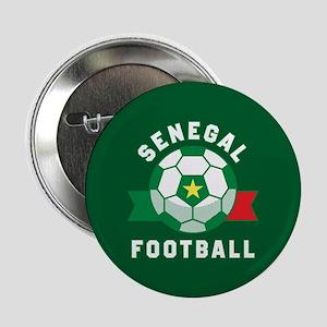 "Senegal Football 2.25"" Button (10 pack)"
