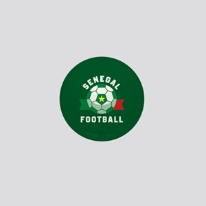 Senegal Football Mini Button